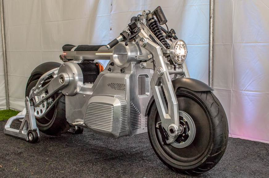 Curtiss Motorcycles reveals 170hp electric cruiser concept