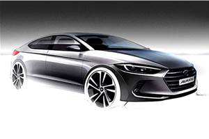 Hyundai Elantra facelift in the works