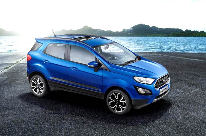Ford EcoSport now gets a sunroof.