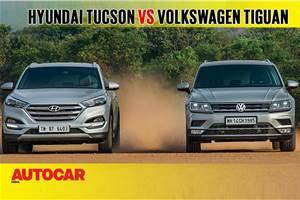 2018 Hyundai Tucson vs Volkswagen Tiguan comparison video