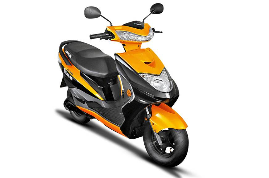 Ampere Vehicles launches new e-scooters, lithium-ion charger