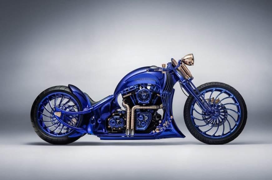 Harley-Davidson Blue Edition unveiled in Zurich