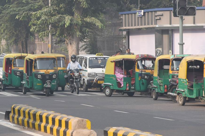 Delhi-based autos, cabs to have mandatory QR code