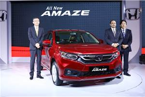 2018 Honda Amaze launched at Rs 5.60 lakh