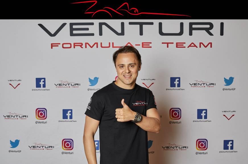 Massa to compete in Formula E with Venturi