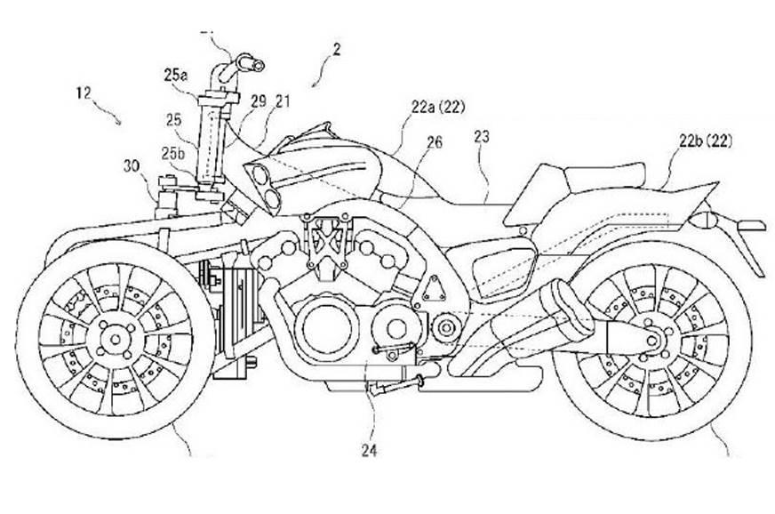 Yamaha working on VMax-based three-wheeler