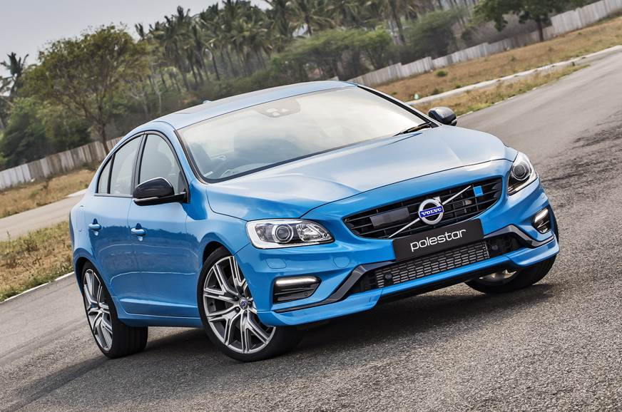 The current-gen S60 Polestar on sale in India.