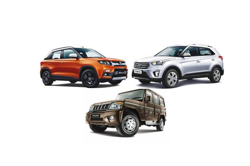 Top 5 UVs in India: Vitara Brezza and Creta still lead the charge