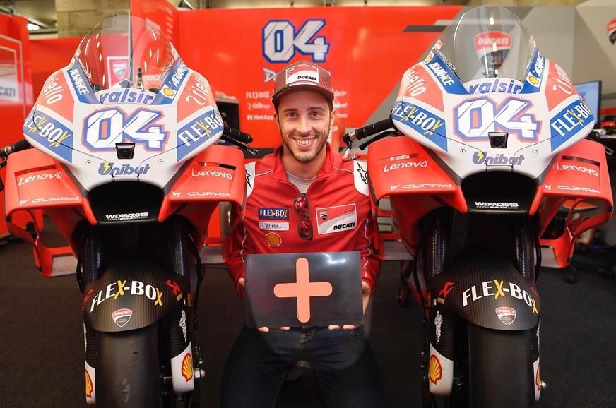MotoGP: Dovizioso signs Ducati contract extension