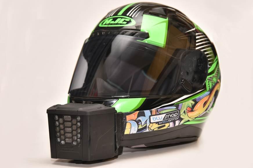 BluArmor BluSnap helmet cooler review