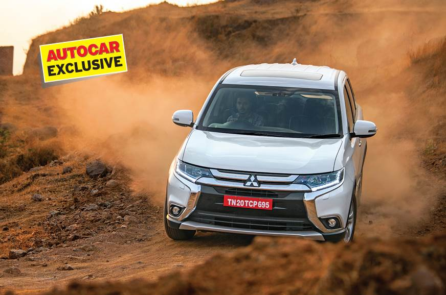 2018 Mitsubishi Outlander India review, test drive