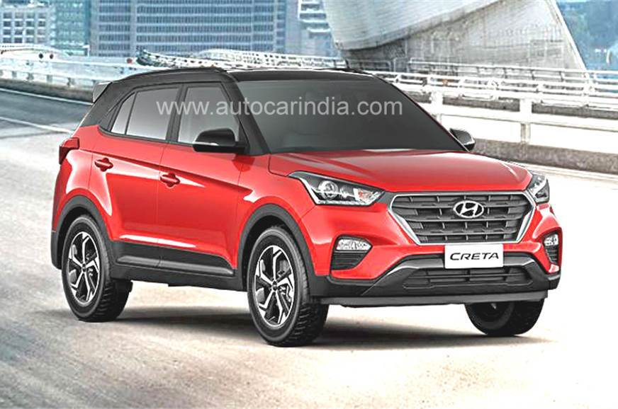 Hyundai Creta facelift to launch next week