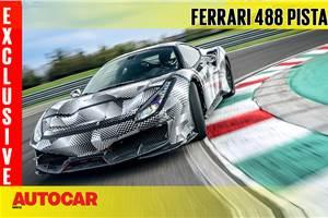 2018 Ferrari 488 Pista video review