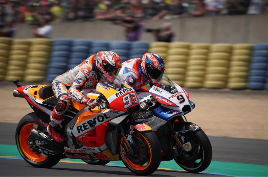 2018 French MotoGP: Triple delight for Marquez