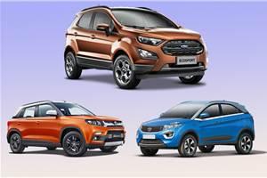 2017 Ford EcoSport vs rivals: Specifications comparison