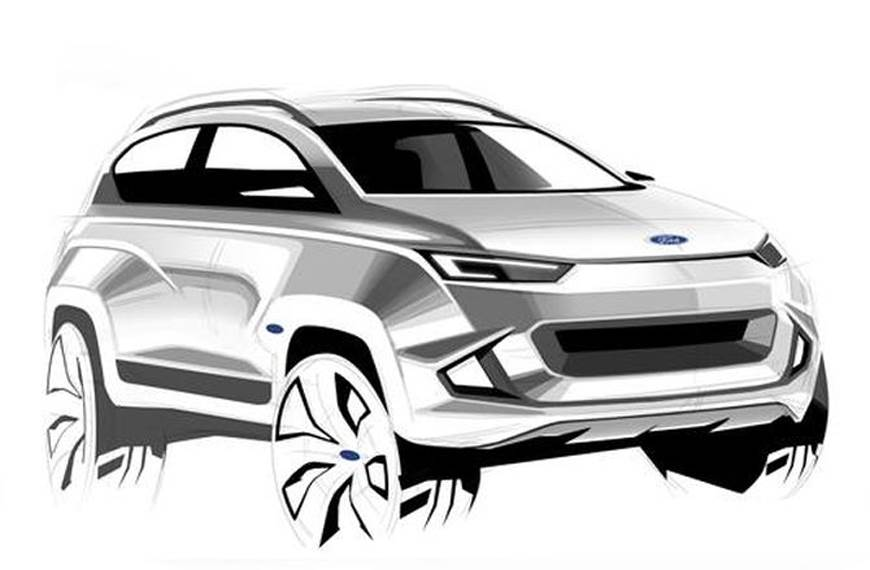 Ford Mach 1 crossover to be unveiled by 2020