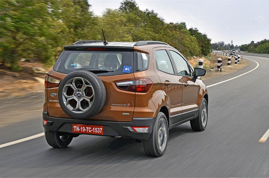 2018 ford ecosport s review test drive autocar india. Black Bedroom Furniture Sets. Home Design Ideas