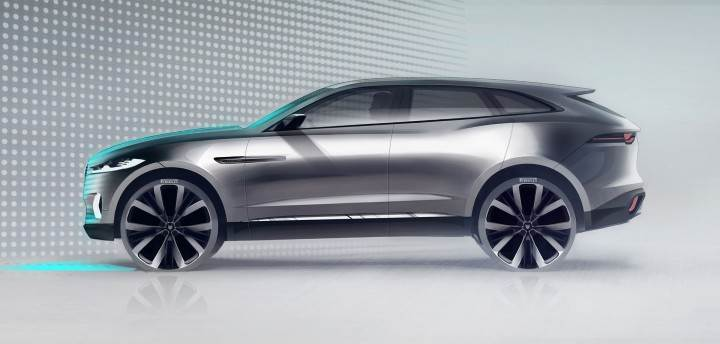 jaguar j pace suv to take on porsche cayenne autocar india. Black Bedroom Furniture Sets. Home Design Ideas
