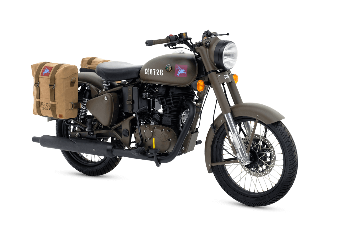 Royal Enfield Classic 500 Pegasus Edition unveiled
