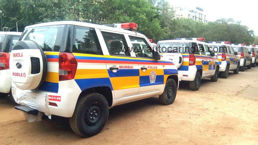 Mahindra TUV300 to join Mumbai police fleet