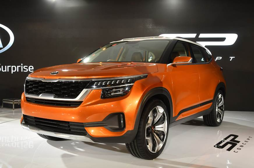 Production-spec Kia SP Concept SUV likely to be called Trazor