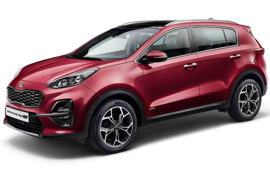 Kia Sportage facelift revealed