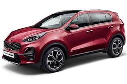Kia Sportage facelift revealed
