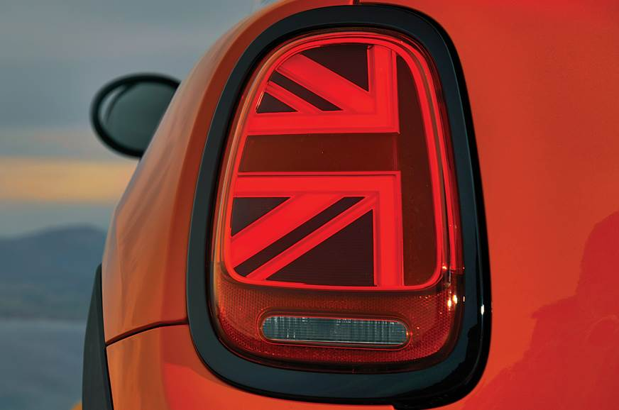 Union Jack tail-lamp may not appeal to everyone.