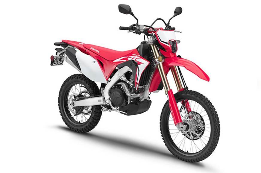 Honda CRF450L street-legal dirt bike unveiled