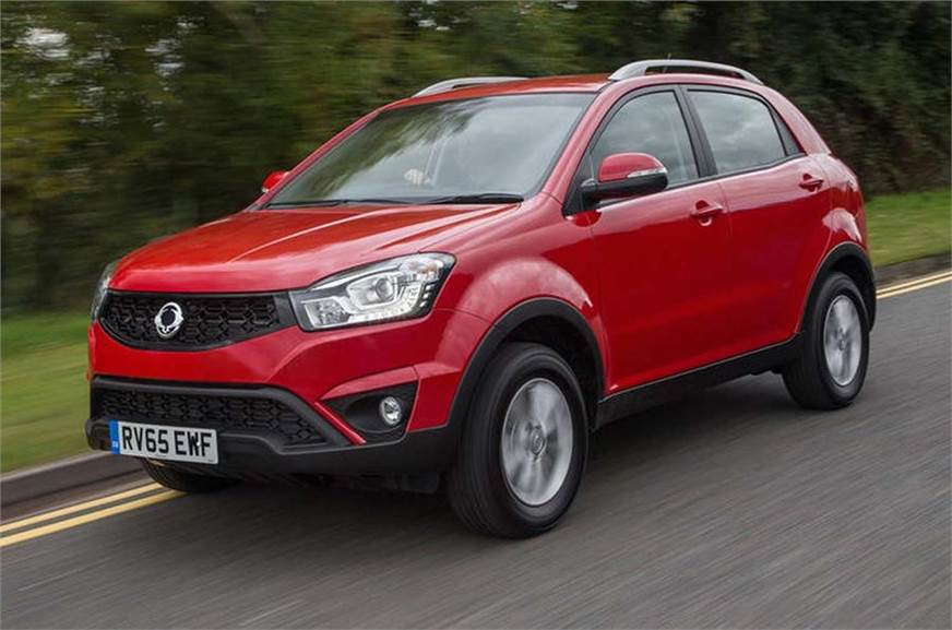 The successor the current Korando SUV will feature Ssangyong's first electric powertrain.