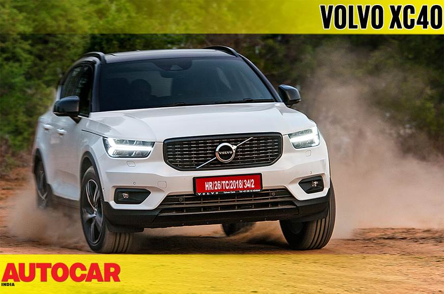 2018 Volvo XC40 India video review