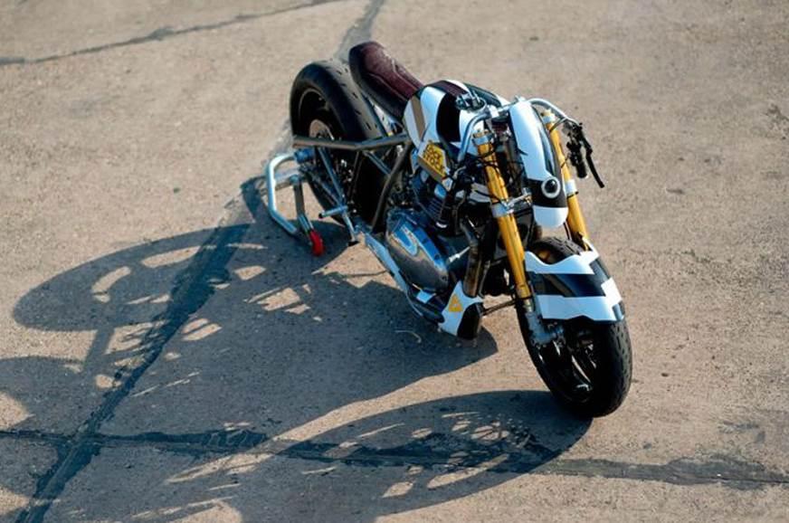 Royal Enfield LockStock wild custom build unveiled