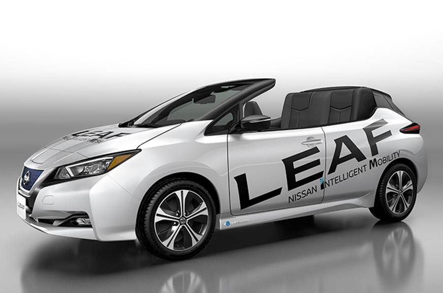 Nissan unveils an electric Leaf Open Car roadster