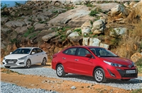 2018 Toyota Yaris AT vs Hyundai Verna AT comparison