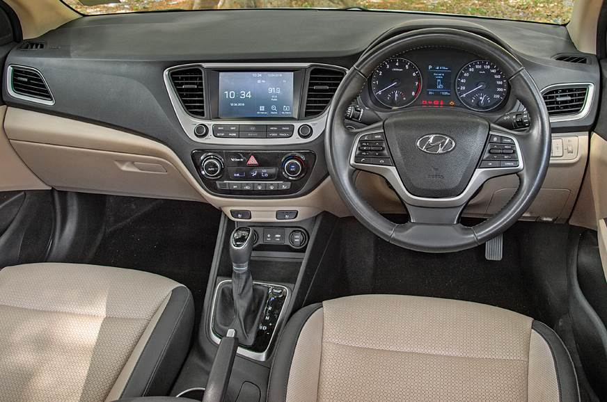 Verna's layout is simple yet fresh. Dual-tone dashboard h...