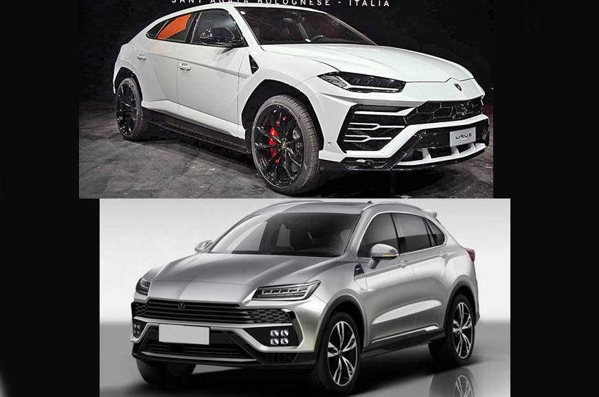 Lamborghini Urus copied by Chinese carmaker