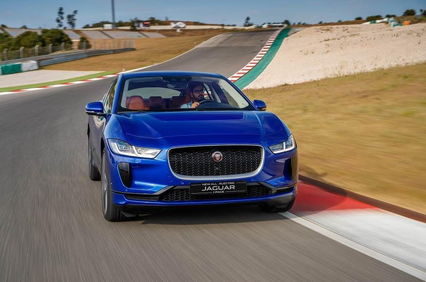 On a race track, the I-Pace drives like a Jaguar should.