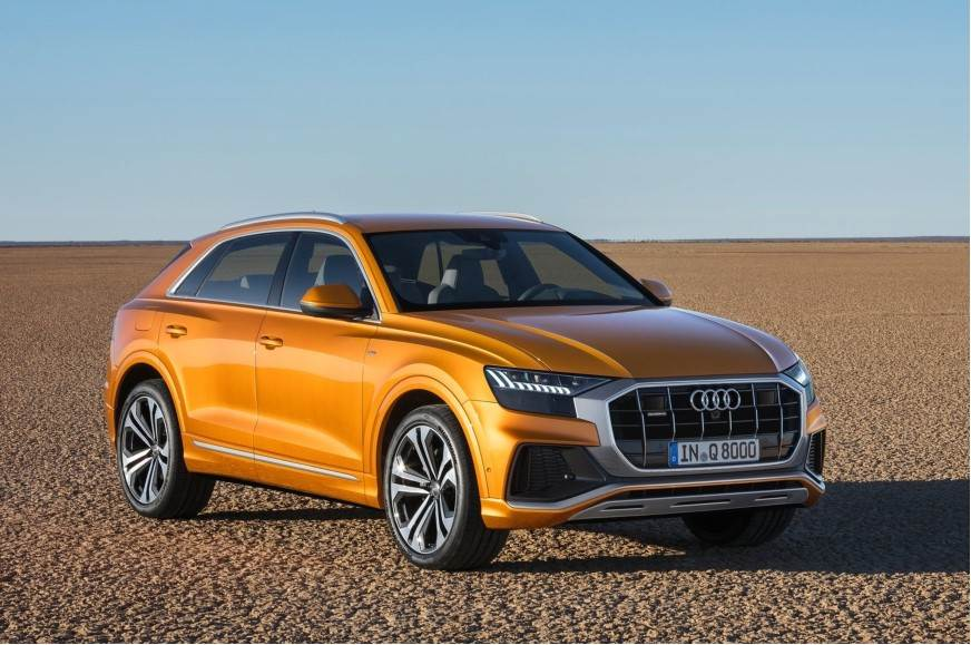 Audi Q8 SUV officially unveiled