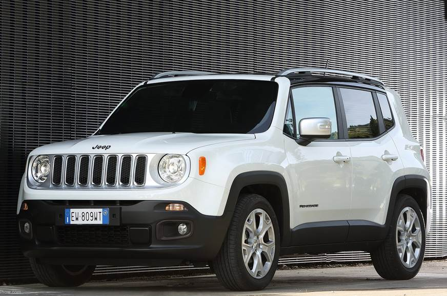 Jeep Renegade facelift unveil on June 6