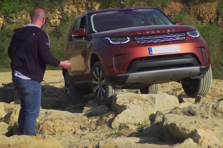 Off-road autonomous tech announced by Land Rover