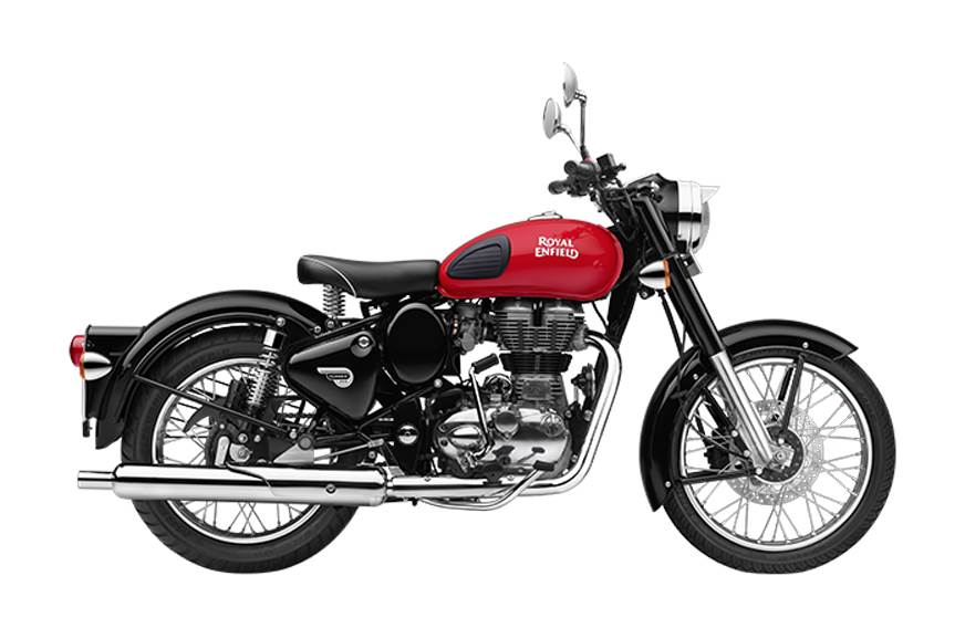 Royal Enfield Classic 350 Redditch now with rear disc