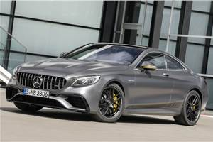 Mercedes-AMG S 63 Coupe launch on June 18