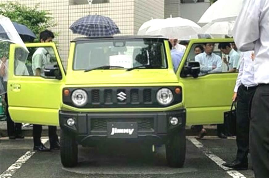 new suzuki jimny production begins autocar india. Black Bedroom Furniture Sets. Home Design Ideas
