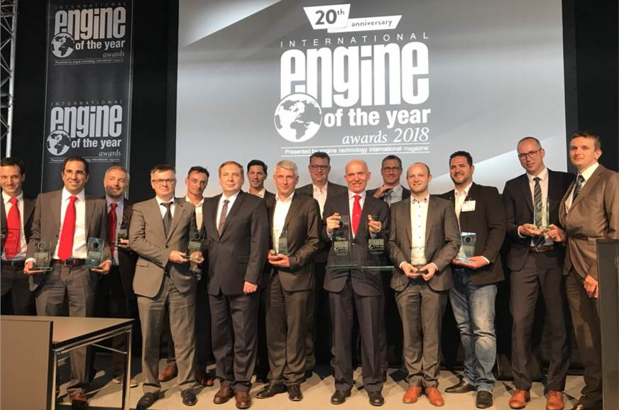 All the winners at the 2018 International Engine of the Y...