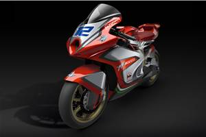MV Agusta Moto2 bike unveiled