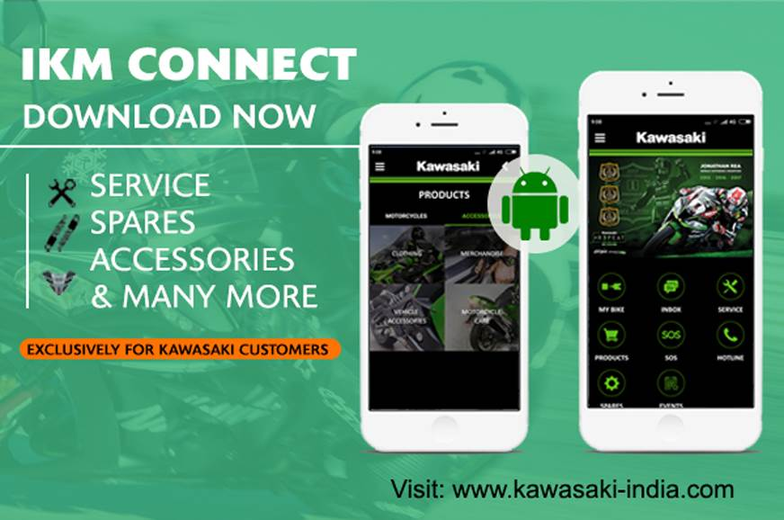 Kawasaki launches IKM Connect app