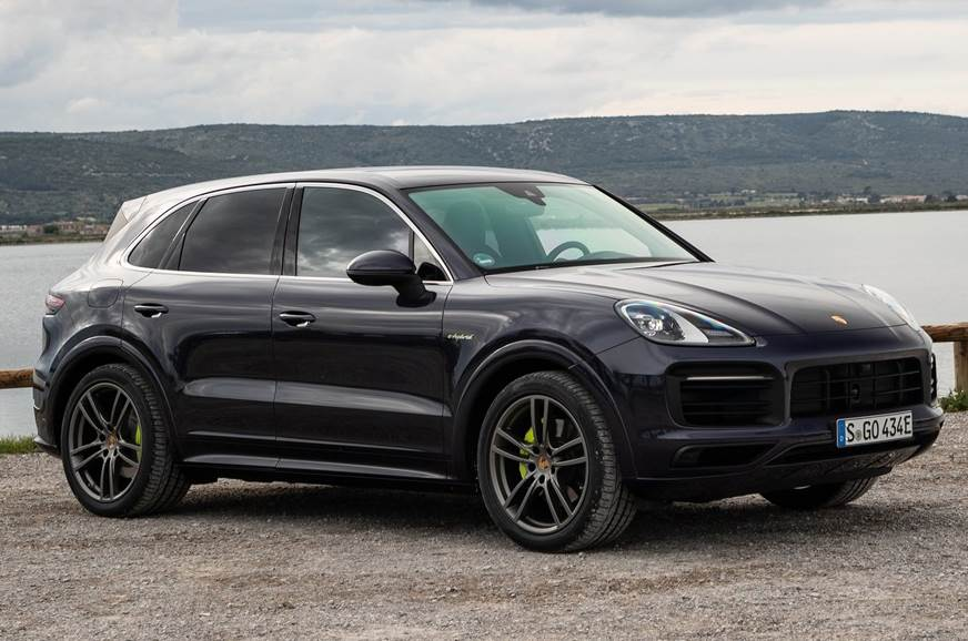 The Porsche Cayenne SUV used for representative purposes only.
