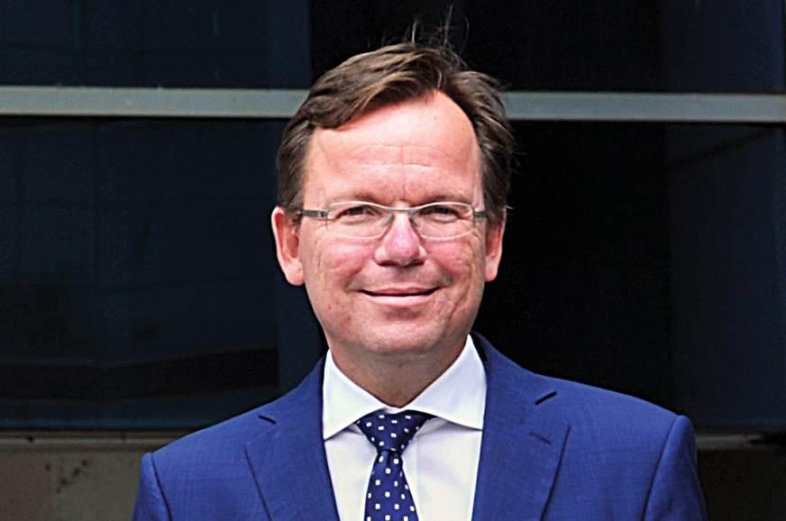 Steffen Knapp: We'll adopt a regionalised sales approach.