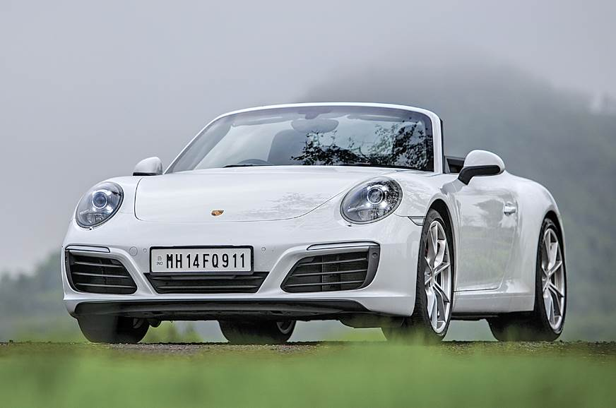 The current Porsche 911 Carrera S on sale in India.