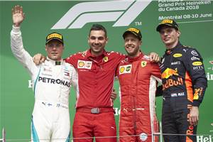 Vettel secures dominant Canadian GP win